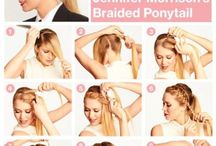 Hairstyles  / by Meghan Trontvet