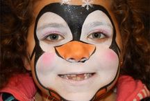 Christmas Face Painting Designs / Christmas Themed Designs