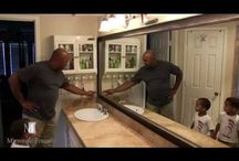 before after check out how adding a frame to your mirror really can create - Mirrorcle Frames