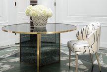 Lee Jofa | Kelly Wearstler | Furniture / A collection of Kelly's first furniture collection for Lee Jofa / by Kravet Inc. | Inspired Design