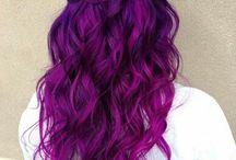 pink purpel hair
