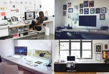 Office Decor Inspiration / Home Interior inspiration ideas for a smart, clutter free and user friendly office space