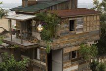 Hus hytter