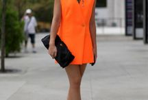 neon orange/yellow