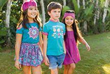 """Colección Gypsy Festival SS 2017 / Moda Infantil - Familia veraniega con estampados multicolor y tonos magentas de inspiración """"indie"""" con detalles dorados. #GypsyFestival"""