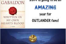 Outlander! Books and TV!!