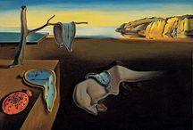 Artistas plásticos / Salvador Dalí, Jacek Yerka => Surrealismo Leonid Afremov, Eugene Lush => Impresionismo