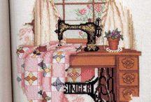 Borduren garen naaimachine en nog meer