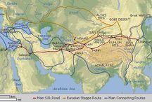 Central Asia, Silk Road