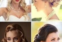 Vintage Bride ~ Hair and Beauty Inspiration