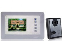 Security Systems - Doorbell & Locks / by Gizga.com