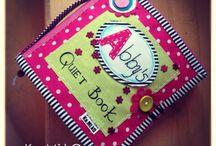 QUIET BOOK / Interaktívna hračka pre deti