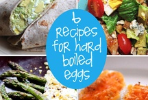 Eggs, Eggs, Eggs / Not sure what to do with all of those hard boiled Easter Eggs? We've got you covered.