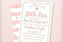 Pink and Gold Little Star Baby Shower