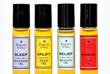 Aromatherapy / I love sharing information about how essential oils can enhance your daily life and contribute to your health and well being.