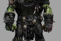Warhammer Fantasy Orcs