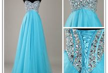Promy dresses