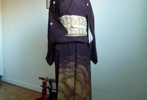 My kimonos / Examples of coordinations and styles from my private kimono wardrobe.