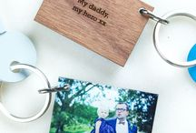 Personalised Photo Gifts / A huge selction of personalised photo gift ideas to display your special moments. From keyrings to frames to photo blocks. All of our materials are ethically sourced and products are made in our little workshop in The New Forest, UK.