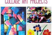 Carte e collages