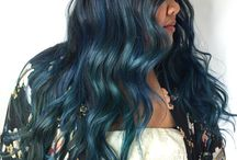 Blue Hair Ideas / Blue hair color styles and ideas from salons, hair stylists and beauty professionals who use Vagaro to manage their business. Blue hair can be aqua, turquoise, denim, baby blue, sky, royal, sapphire, ice or icy blue, cobalt, indigo, electric, neon, light and dark.