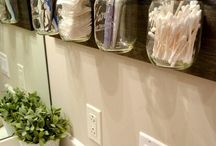 Bathroom Organisation / Tricks to make your bathroom more organised and functional.
