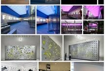 Lobbies, public spaces