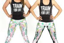 Workout/dance clothes