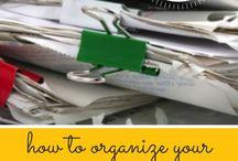 paperwork organization