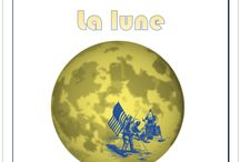 La lune / Lapbook sur la Lune de l'Association Carpe Diem