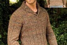 Robótki na drutach dla mężczyzn
