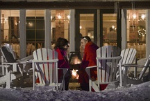 Winter - Romancing the Snow / Romance the Snow at an Ontario Resort this Winter.