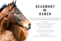 Special Events At Beaumont Ranch / Special Event information for Beaumont Ranch | Grandview, TX   Beaumont Ranch is a working cattle and guest ranch located on 800 acres, 35 miles south of Dallas & Fort Worth, Texas. The Ranch hosts public, private and corporate events, has unique luxury and rustic accommodations, and a variety of outdoor adventures for visitors. / by Beaumont Ranch