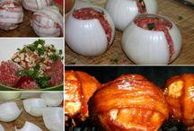 мясо гриль и подача