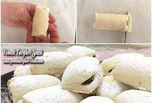 Elmalı kurabiye tarifi lezzetli