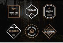HIPSTER LOGO / Hipster logo shapes