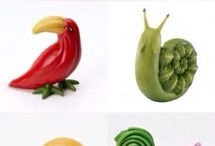 animali con cibo