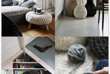 Bulky homeware knitting