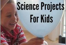 Science School Projects / A list with cool science projects for kids and adults.