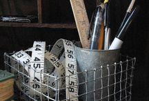 Crafts / Wire basket DIY