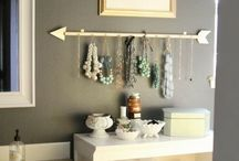 Jewelery storage ideas