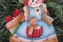 Pintura en Tela - Holidays