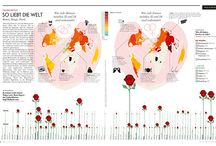 A lot of graphics / Alle Infografiken seit der Gründung / All our infographics from the beginning (Golden Section Graphics)