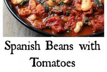 Spanish Beans and Tomatoes