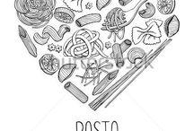 Italian pasta packaging