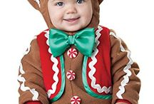 Gingerbread Man Christmas Halloween Costume / Stay in touch on Facebook! https://www.facebook.com/maskerix/