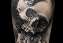 Tattoos caveiras