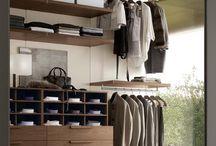 Walk in closet / Inspiration till alla snygga modeller av walk in closet