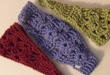 Crochet hats and headbands