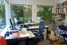 Workspaces And Home Offices / Awesome looking places to put that work in / by Ted Murfree